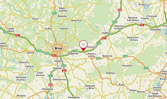 mapy brno