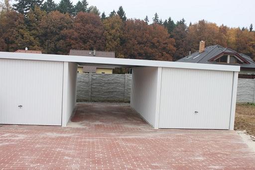 mukaov - plechov gare se stnm 9 x 6m siebau