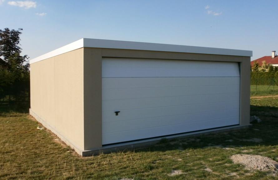 plechova garaz vario osnice
