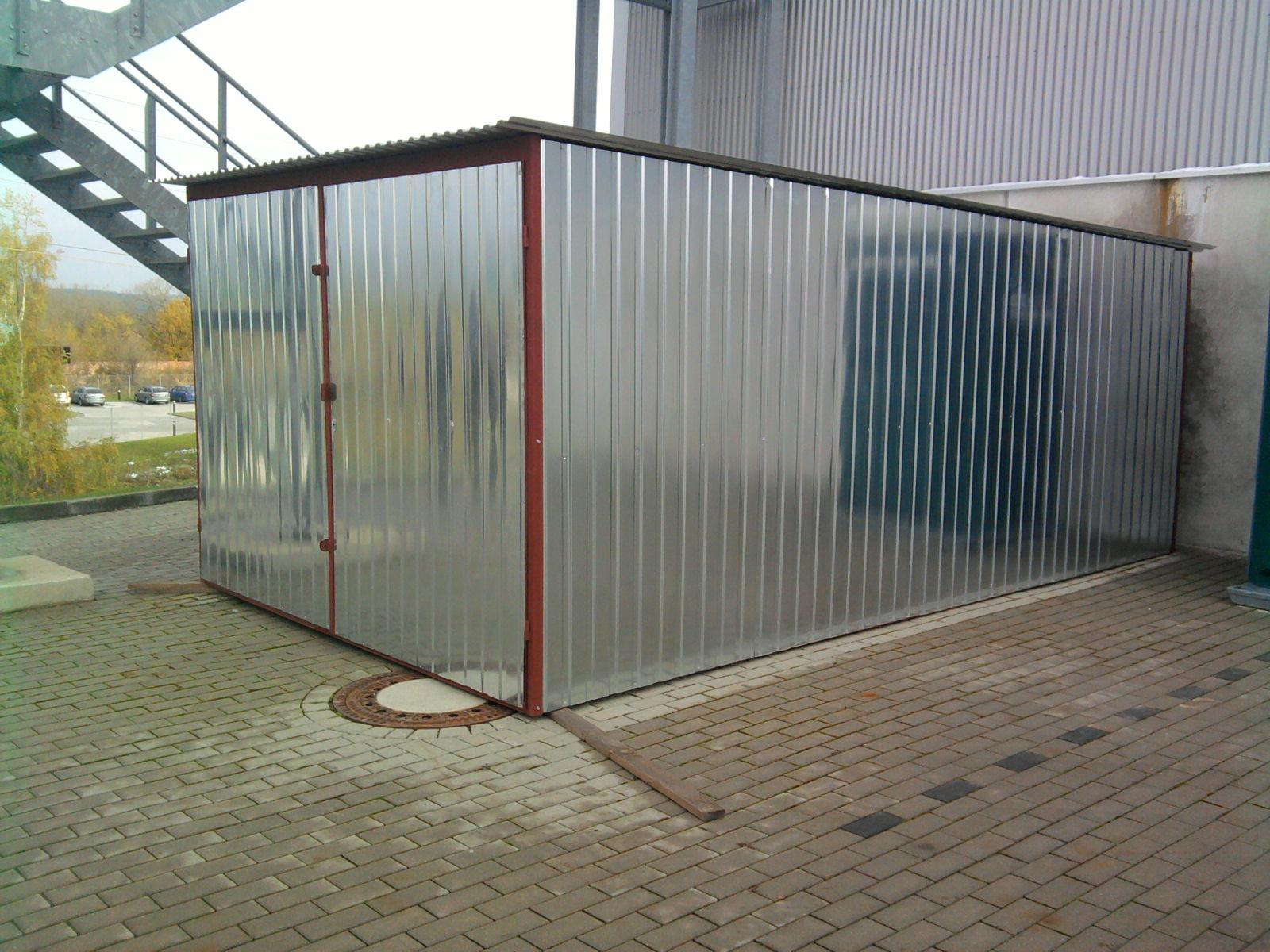 levná garáž