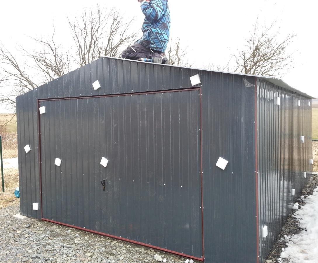 levné plechové garáže Wojstal