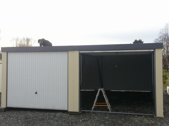 plechové garáže montované