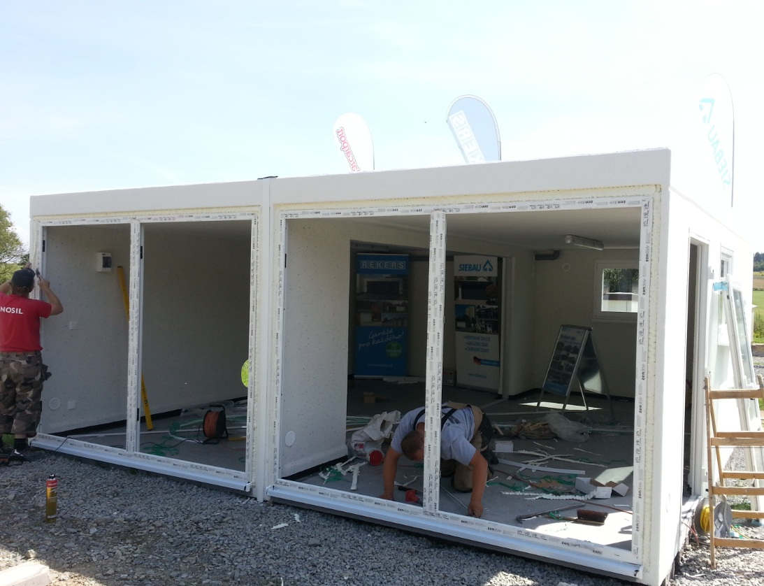 betonová garáž